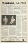 Montana Kaimin, September 21, 1990