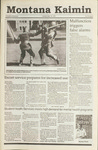 Montana Kaimin, September 25, 1990