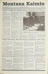 Montana Kaimin, October 3, 1990