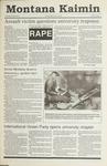 Montana Kaimin, October 10, 1990