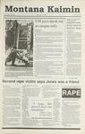 Montana Kaimin, October 12, 1990