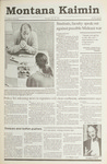 Montana Kaimin, October 30, 1990