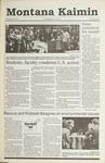 Montana Kaimin, October 31, 1990