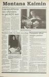 Montana Kaimin, November 9, 1990