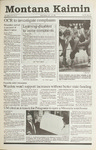 Montana Kaimin, November 14, 1990
