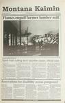 Montana Kaimin, November 21, 1990