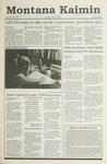 Montana Kaimin, November 27, 1990