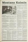 Montana Kaimin, November 28, 1990