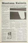 Montana Kaimin, November 30, 1990