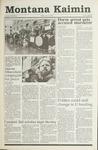 Montana Kaimin, January 11, 1991