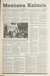 Montana Kaimin, January 22, 1991
