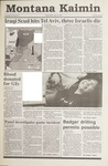 Montana Kaimin, January 23, 1991