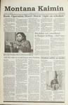 Montana Kaimin, January 24, 1991