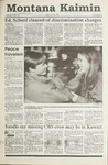 Montana Kaimin, January 25, 1991