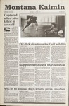 Montana Kaimin, January 30, 1991