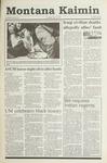 Montana Kaimin, February 14, 1991