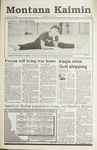 Montana Kaimin, February 20, 1991