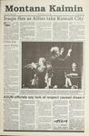 Montana Kaimin, February 27, 1991