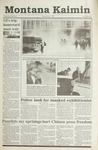 Montana Kaimin, March 1, 1991