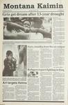 Montana Kaimin, March 5, 1991