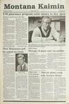 Montana Kaimin, April 5, 1991