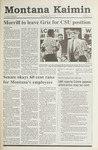 Montana Kaimin, April 10, 1991