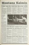 Montana Kaimin, April 17, 1991