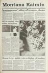 Montana Kaimin, April 18, 1991