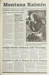 Montana Kaimin, April 23, 1991