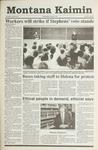 Montana Kaimin, April 24, 1991