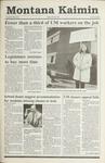 Montana Kaimin, April 26, 1991