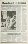 Montana Kaimin, April 30, 1991