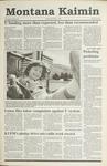 Montana Kaimin, May 1, 1991