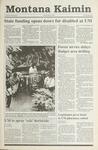 Montana Kaimin, May 3, 1991