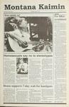 Montana Kaimin, May 9, 1991