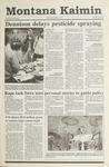 Montana Kaimin, May 15, 1991