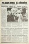 Montana Kaimin, May 22, 1991