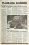 Montana Kaimin, May 23, 1991