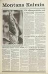 Montana Kaimin, May 29, 1991