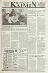 Montana Kaimin, November 6, 1991