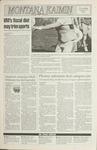 Montana Kaimin, October 1, 1992