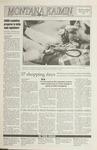 Montana Kaimin, November 18, 1992