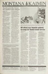 Montana Kaimin, January 21, 1993
