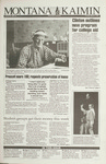 Montana Kaimin, March 2, 1993