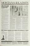 Montana Kaimin, March 12, 1993