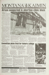 Montana Kaimin, March 30, 1993
