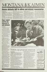 Montana Kaimin, April 2, 1993