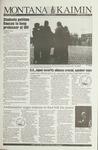 Montana Kaimin, April 28, 1993