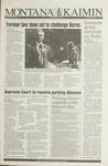 Montana Kaimin, August 26, 1993