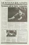 Montana Kaimin, September 1, 1993